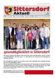 Aktuell - Gemeinde Sittersdorf