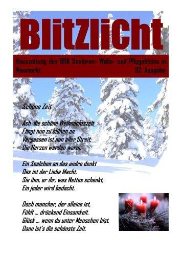 Hauszeitung 32 - BRK Seniorenwohn- und Pflegeheim Neumarkt