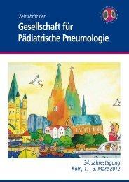 Aus den AGs - Gesellschaft für Pädiatrische Pneumologie