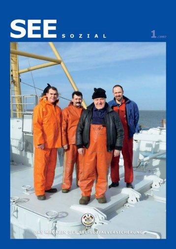 SEE SOZIAL Ausgabe 1/2007 - Berufsgenossenschaft für Transport ...