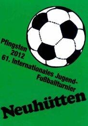 Pokal- und Ball-Spenden für Pfingsten 2012 - VfB Neuhütten