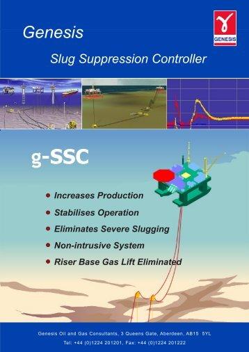 Genesis Slug Suppression Controller