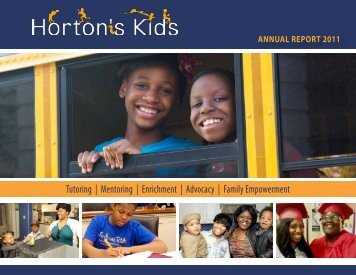 Annual Report - Horton's Kids