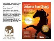 Arizona Sun Circuit - Mark Harrell Horse Shows