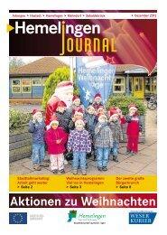 Aktionen zu Weihnachten - Bremen Hemelingen