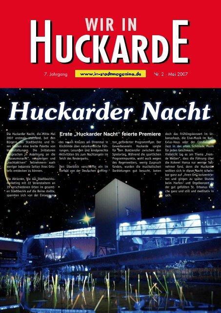 Huckarde diskutierte - Dortmunder & Schwerter Stadtmagazine