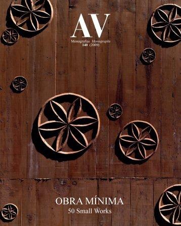 OBRA MÍNIMA - Arquitectura Viva