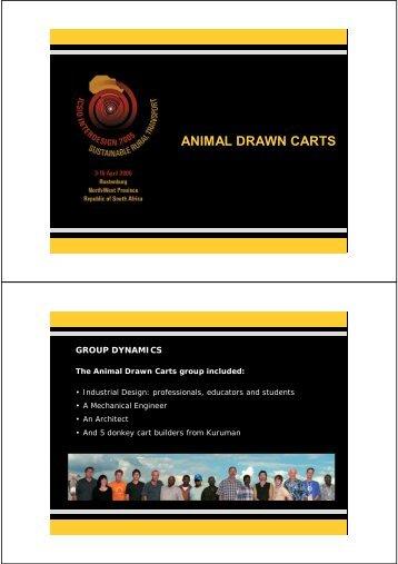 ANIMAL DRAWN CARTS - Interdesign 2005