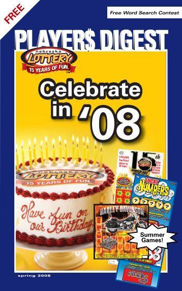 Celebrate in Celebrate in - Nebraska Lottery