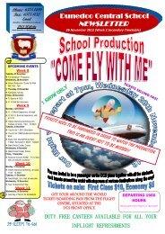 Newsletter Week 8 Term 4 - Dunedoo Central School
