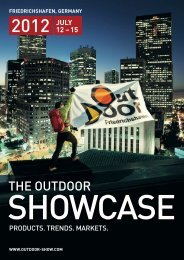 A comprehensive business news service for the outdoor industry ...