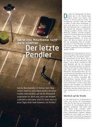 Der Weg zur Arbeit - und Handelskammer Nord Westfalen