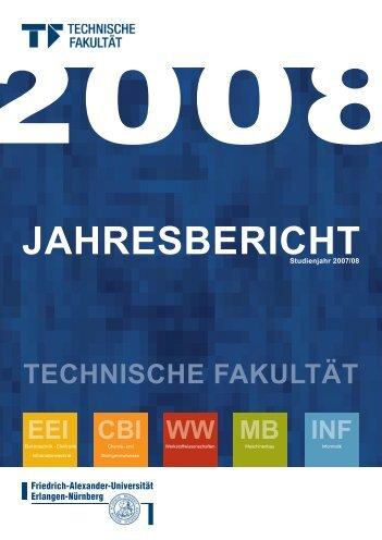 EEI CBI WW MB INF - Technische Fakultät - Universität Erlangen ...