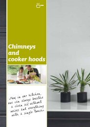 Chimneys and cooker hoods - Fagor