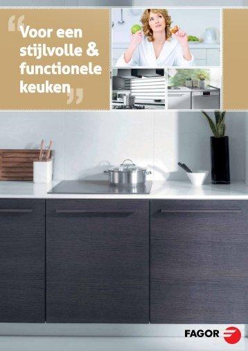 Voor een stijlvolle & functionele keuken - Fagor