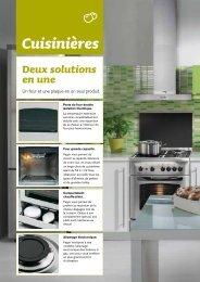 cuisinières à gaz 50 x 60 cm - Fagor