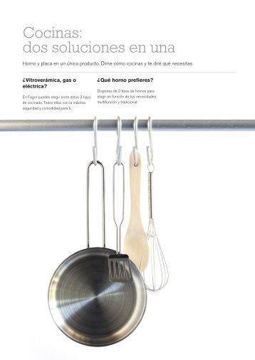 Cocinas: dos soluciones en una