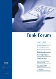 Funk Forum 4/2007 - Funk Gruppe