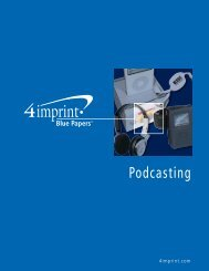 Podcasting - 4imprint Promotional Products Blog