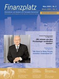 Nr. 2 March 2005 - Deutsches Aktieninstitut
