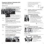 Programm Höchster Schlossfest 2011 vom 18.Juni bis - in der Alten ...