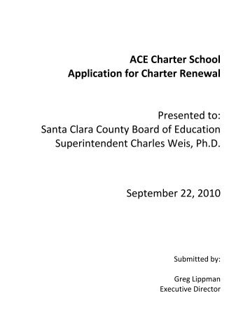 ACE Charter School   Santa Clara County Office Of Education