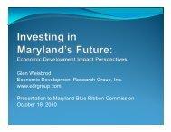 Glen Weisbrod Economic Development Research Group, Inc. www ...