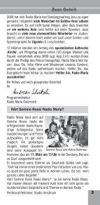 RADIO MARIA - Seite 3