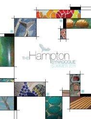 Summer 2011 - The Hampton Synagogue
