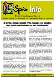 Download Ausgabe September 2010 - Spix eV