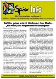 Download Ausgabe September 2010 - Spix eV