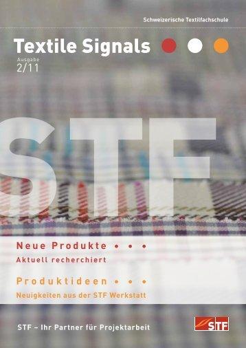 Ausgabe 2/11 - Schweizerische Textilfachschule STF