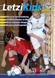 LetziKids Magazin Nr. 3, April 2006 - FC Zürich