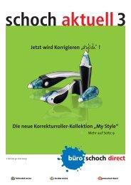 """Die neue Korrekturroller-Kollektion """"My Style"""" - Büro Schoch - Büro ..."""