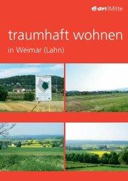 traumhaft wohnen - Gemeinde Weimar