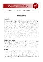 Vol. II, Nr. 3, Kopierpapiere