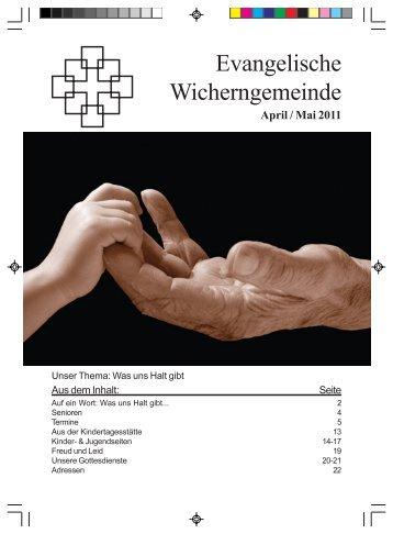 Evangelische Wicherngemeinde - Wicherngemeinde Frankfurt
