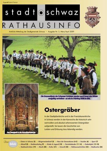 Ostergräber - Schwaz
