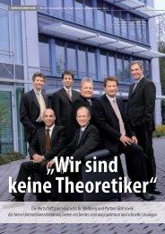 Die Wirtschaftsprüfersozietät Dr. Wehberg und Partner GbR sowie ...