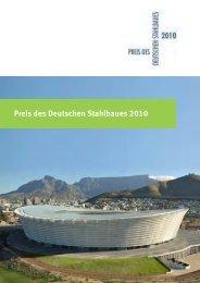 Preis des Deutschen Stahlbaues 2010 - bauforumstahl eV