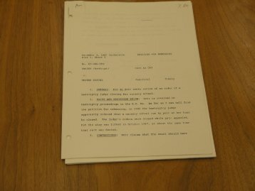 December: 4 , 1987 Conference PETITION FOR REHEARING
