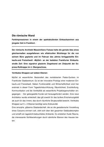 MyZeil, Frankfurt - Moeding Keramikfassaden GmbH