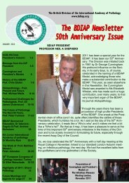 Newsletter 2012 - British Division of the IAP