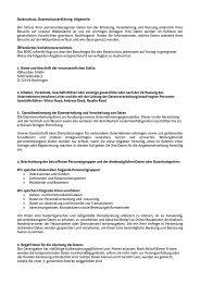 Datenschutzerklärung - Haus-Konfigurator