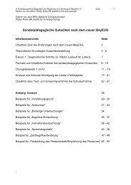 Sonderpädagogische Gutachten nach dem neuen BayEUG