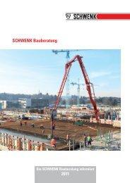 SCHWENK Bauberatung 2011 - SCHWENK Zement KG