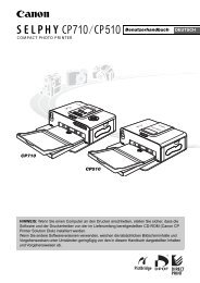 SELPHY CP510 SELPHY_CP710_510_ug_deu_toc.pdf - Canon ...