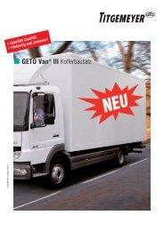 GETO Van® III - Titgemeyer
