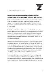 ZinCo Pressebericht