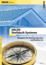 DELTA®-Steildach-Systeme - Ratgeber für Dachhandwerker und ...